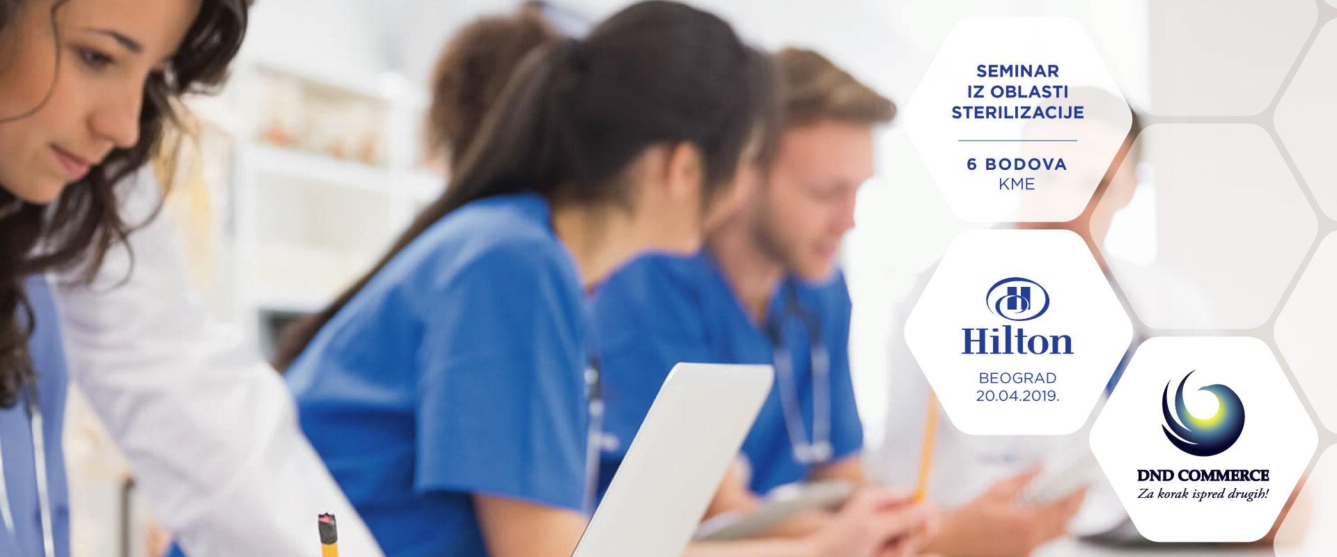 Zvanični program seminara: Značaj i prednost savremene tehnologije u procesu sterilizacije medicinskih instrumenata