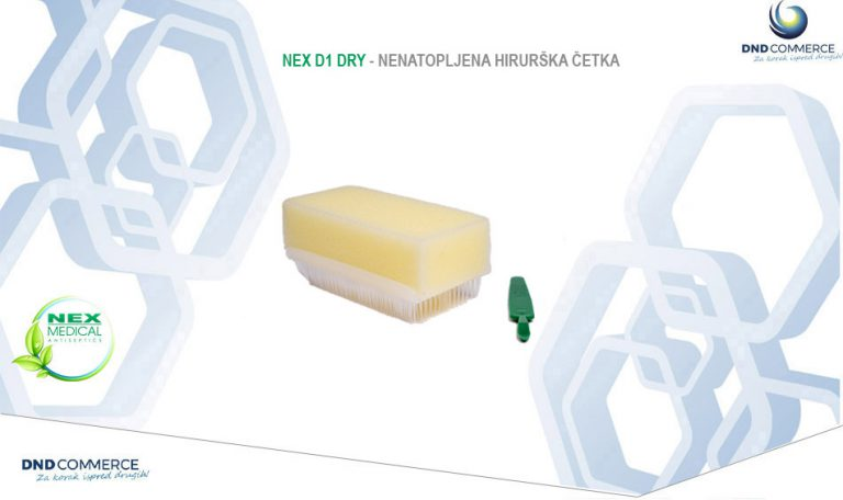 Read more about the article Nex D1 Dry Surgical brush/sponge